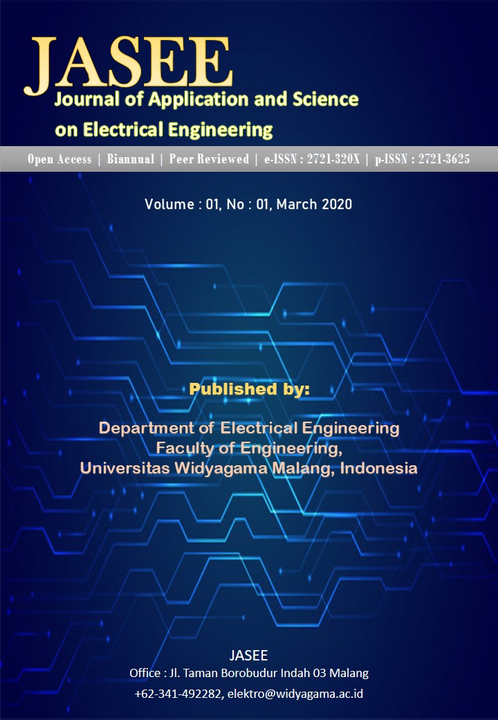 JASEE Journal of Application and Science on Electrical Engineering, Volume:01, No:01, 2020